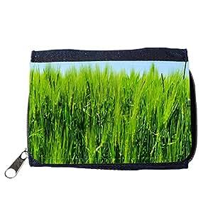 le portefeuille de grands luxe femmes avec beaucoup de compartiments // M00237067 La cebada Campo Agricultura // Purse Wallet