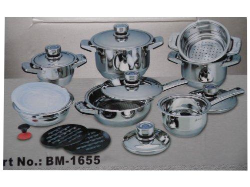 Solingen Bachmayer 16 Piece Cookware Set, High Quality
