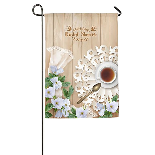 HYHACZX Bridal Shower Garden Flag Yard Decorations Flag For