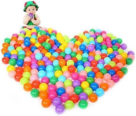 ABEDOE Bolas de Colores Suaves, Bolas de Juego de plástico Bolas de océano Juguete de natación para bebés y niños para Piscinas de Piscinas