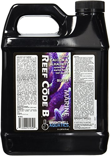 Brightwell Aquatics ABARCB2L Reef Code B Liquid Salt Water Conditioners for Aquarium, 67.6 fl.-Ounce