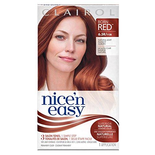 Nice 'N Easy Permanent Hair Color 6.5R Natural Light Radiant Auburn 1 Kit
