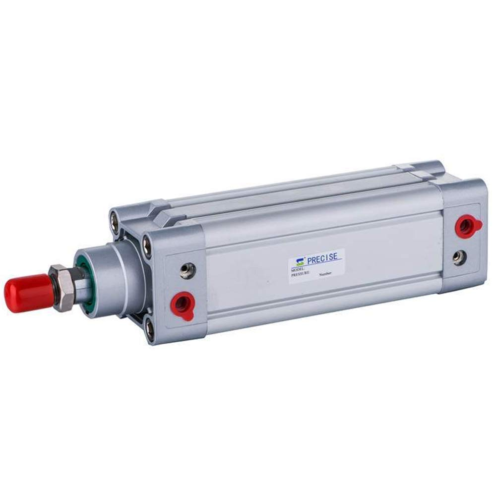 Precise DNC63X100-S 63mm Bore x 100mm Stroke 3/8'' NPT ISO15552 Double Acting Air Cylinder