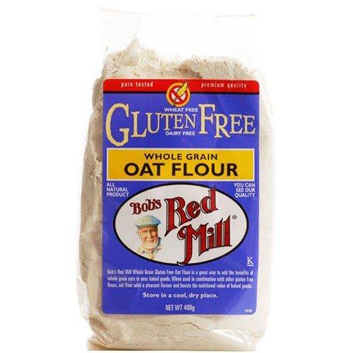 (3 PACK) - Bobs Red Mill - G/F Oat Flour | 400g | 3 PACK BUNDLE