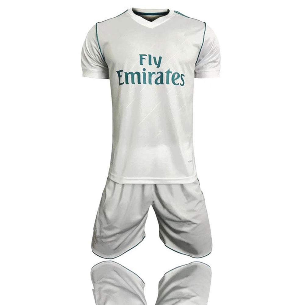 XSSC Camiseta Copa Mundial 17-18 Temporada Real Madrid Traje de ...