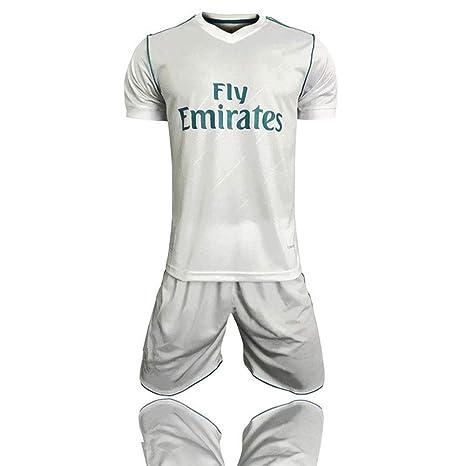 XSSC Camiseta Copa Mundial 17-18 Temporada Real Madrid Traje ...