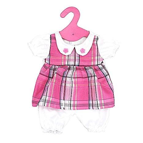 MagiDeal Combinaison avec Cintre en Tissu Papier Dé coration pour 18'' Fille Amé ricaine Poupé e Dolls Accessoires - Blanc rose