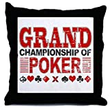 CafePress - Grand Championship Of Poker - Decor Throw Pillow (18''x18'')
