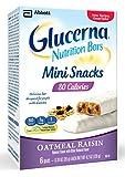 Glucerna Best Deals - Glucerna Mini Snack Nutrition Bars, Oatmeal Raisin, 0.70-Ounce, 36 Count