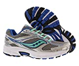 Saucony Women's Grid Cohesion 9 Silver/Navy Teal