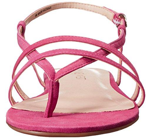 Nine West shmoopy Suede vestido de la sandalia Dark Pink