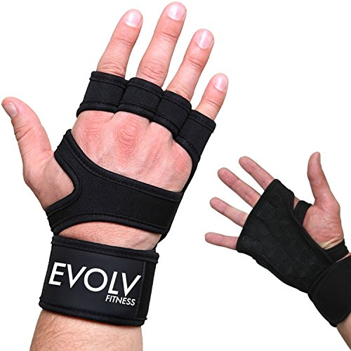 Aqf Weight Lifting Gloves Ultralight Breathable Gym Gloves: EVOLV FITNESS Workout Gloves, Weight Lifting Gloves With