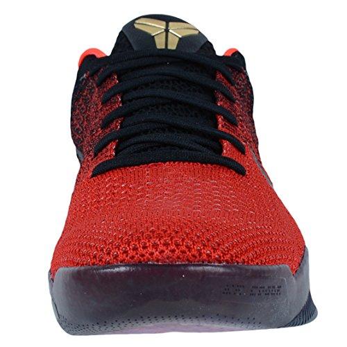 Nike Kobe Xi Elite Low (wit / Universiteit Red-dp Royal Bl) Olympisch Usa Pack Universiteit Rood / Metallic Goud / Zwart / Helder Crimson