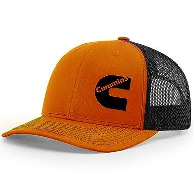 4e619b0f985 Cummins Diesel Snapback Trucker Hats 112 (Orange Black) at Amazon ...