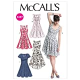McCall's Patterns M6504 Misses' Dresses, Size A5 (6-8-10-12-14)