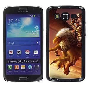 Estuche Cubierta Shell Smartphone estuche protector duro para el teléfono móvil Caso Samsung Galaxy Grand 2 SM-G7102 SM-G7105 / CECELL Phone case / / Eagle Pc Game Mystery Gamer Giant