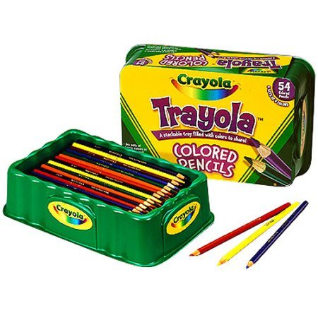 BIN688054 - Crayola Colored Wood Pencil Trayola
