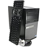 DELL OPTIPLEX 7010 Tower High Performance Business Desktop Computer, Intel Quad-Core i5-3550 3.3GHz, up to 3.7GHz, 8GB RAM, 256GB SSD, DVD, Windows 10 Pro 64 Bit (Certified Refurbished)