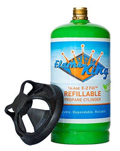Flame King Ysn164 Refillable 1 Lb Propane Cylinder 16 4