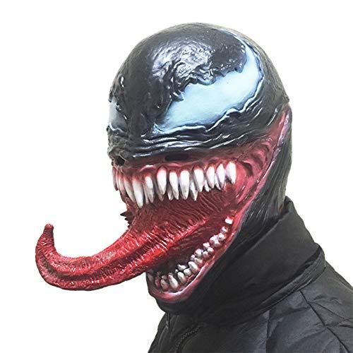 Halloween Costumes Argos (Venom Kids Halloween Costume Mask - Deluxe Venom Mask Helmet Cosplay Costume Accessories Adult)