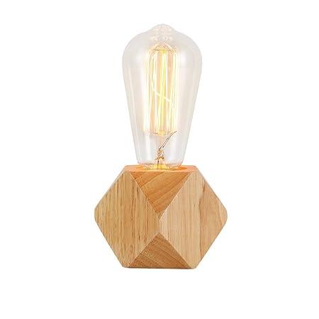 Lámparas de Escritorio Lámpara de mesa de noche retro Lámpara de ...