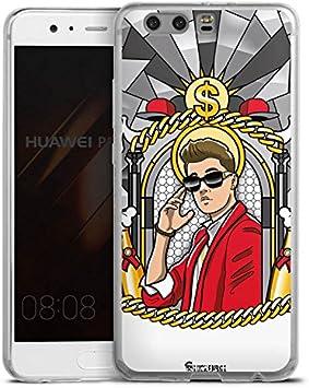 Huawei P10 Plus Slim Case Carcasa de silicona Justin Bieber Dólar ...
