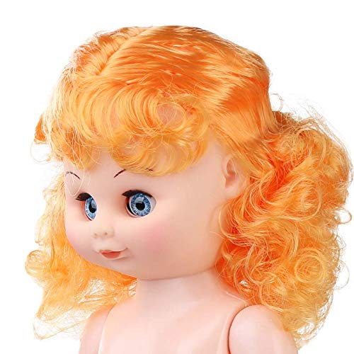 Factory Direct Craft Strawberry Blonde Jointed Vinyl Bed Doll for Crafting, Creating and Dollmaking