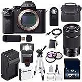 Sony Alpha a7R II Mirrorless Digital Camera (International Model no Warranty) + Sony E 55-210mm f/4.5-6.3 OSS E-Mount Lens (Black) + 49mm 3 Piece Filter Kit 6AVE Bundle 124