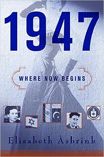 1947 Where Now Begins Elisabeth åsbrink Fiona Graham