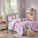Twirling Tutu Comforter Set Purple Twin