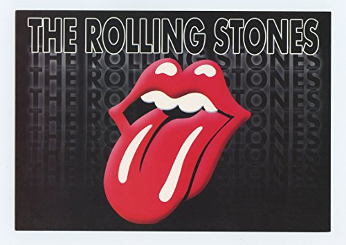 The Rolling Stones Greatest Hits Album commemorative Postcard by Raven Image ()