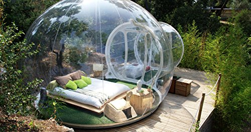 One Night Stay In Unique Bubble Hotel In France For Two   Tinggly Voucher Gift Card In A Gift Box