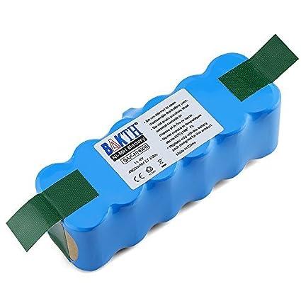 BAKTH 14.4V 4000mAh Ni-MH batería de repuesto para iRobot Roomba 500 600 700