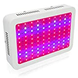 1000W LED Grow Light, MRJ Single Chips Full Spectrum Grow Lamp for Greenhouse Hydroponic Indoor Plants Veg and Flower (10W Leds)