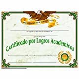 Spanish Certificate of Achievement - Glossy Paper - Quantity 150