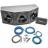 "Skar Audio Triple 12"" Complete 1,500 Watt IX Series Subwoofer Bass Package"