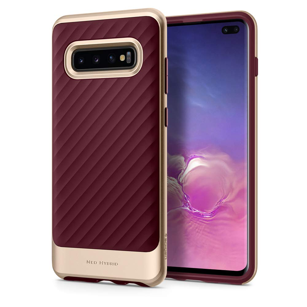Funda Spigen Samsung S10 Plus [burgundy] Neo Hybrid