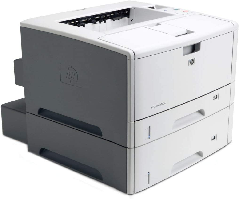 HP LaserJet 5200DTN 5200 Q7546A Wide Format Printer With New 16A Toner and 90/Day Warranty(Renewed)