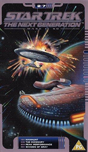 Star Trek The Next Generation - Vol. 2.7 - Manhunt / Emissary / Peak Performance / Shades Of Grey [VHS]