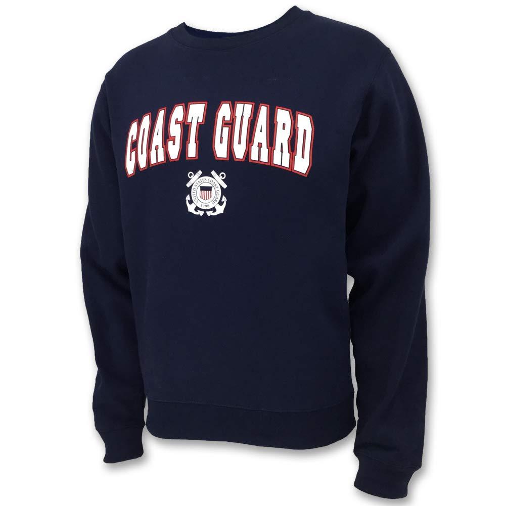 United States Coast Guard Arch Seal Crewneck Sweatshirt