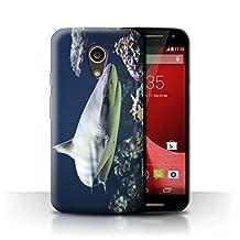 STUFF4 Phone Case / Cover for Motorola Moto G 4G 2015 / Blacktip Shark Design / Marine Wildlife Collection