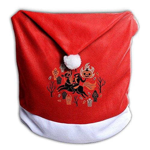 YHOLY_1 Headless Horseman Holds A Fire Pumpkin Christmas