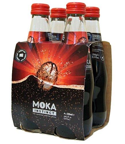 モカ インスティンクト エスプレッソ炭酸飲料 4本セット Moka Instinct Espresso Soda
