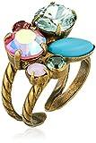 Sorrelli Happy Birthday Intermix Adjustable Ring