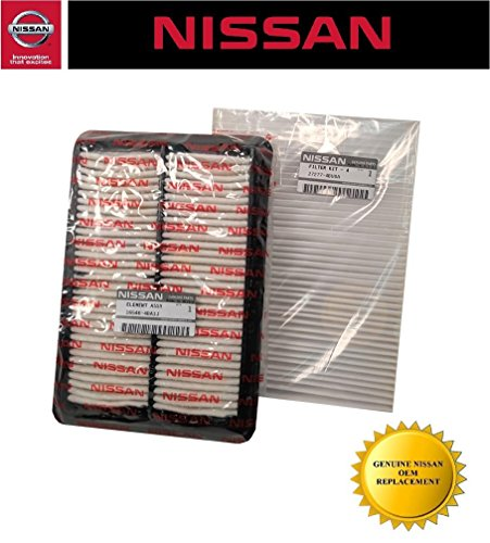 (Genuine Nissan OEM Rogue Engine and Cabin Filter Kit (2014 and Up) )