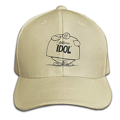 FeiZhiLin Funny American-Idol Natural Baseball Cap Printed Casual for Women