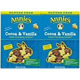 2 Savers Package:Annie's Gluten Free Cocoa & Vanilla Bunny Cookies (12x6.75Oz)