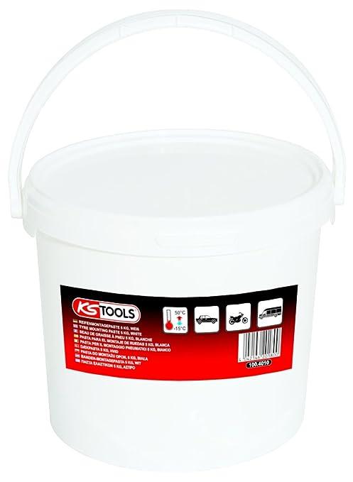 KS Tools 100.4010 Pasta para el Montaje de Ruedas, Color Blanco (Cubo de 5