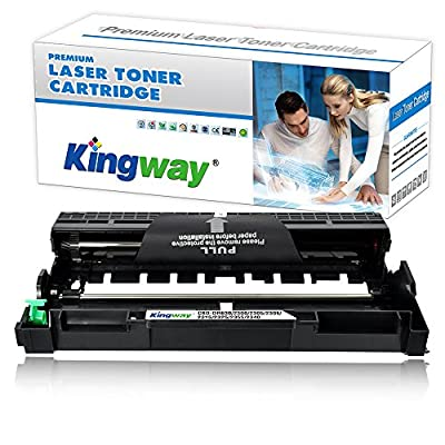 Kingway TN660 TN630 Compatible Brother TN-660 TN-630 High Yield Toner Cartridge for Brother LaserJet Pro HL-L2340DW DCP-L2540DW MFC-L2700DW HL-L2380DW HL-L2300D MFC-L2740DW DCP-L2520DW Printer