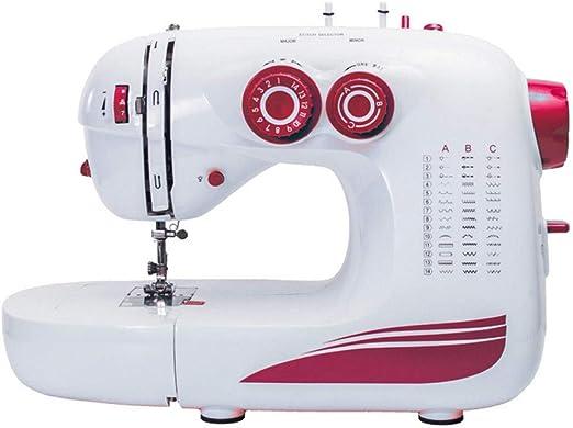 PIAOLING Máquina de Coser doméstica Inicio 42 Puntos Multifunción ...